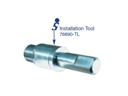 AODE, 4R70W 1-2 Accumulator Installation Tool