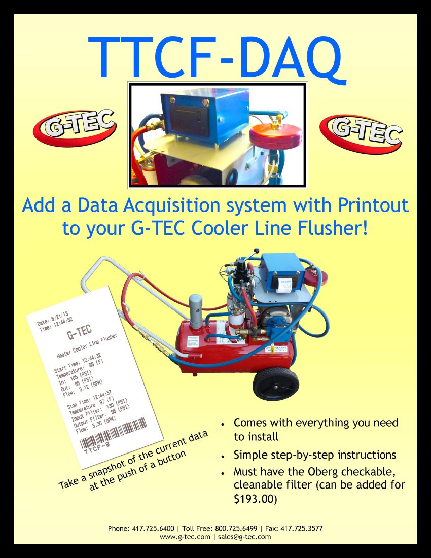 Cooler Flusher Data Acquisition System